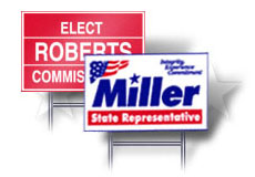 Capitol Promotions Political Sign Campaign Material