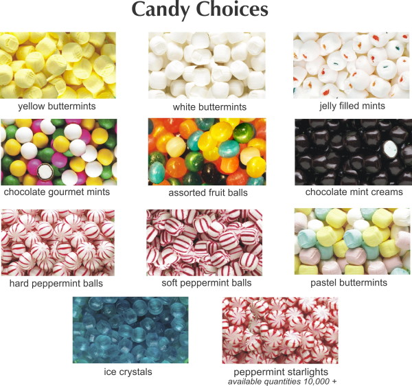 Capitol Promotions Custom Printed Campaign Candy Wrappers