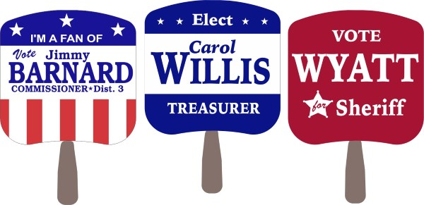 Capitol Promotions Political Hand Fans