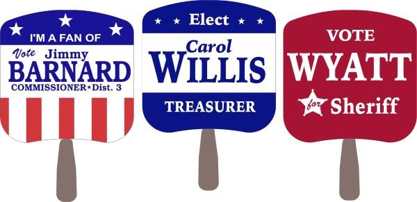 Capitol Promotions Political Hand Fans