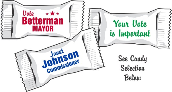 Capitol Promotions Political Campaign Candy