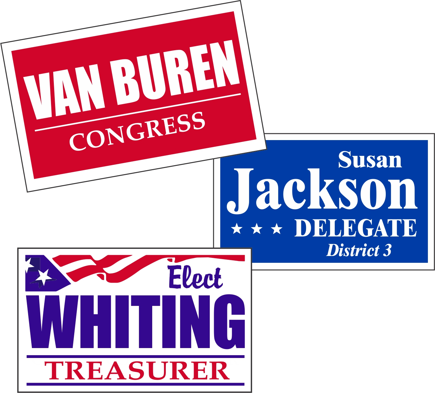 Capitol Promotions Custom Political Signs