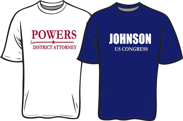 Capitol Promotions Political Union Printed Tee Shirts