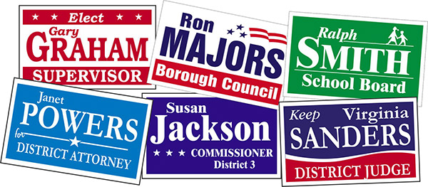 Capitol Promotions Custom Political Campaign Signs