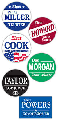 Capitol Promotions Custom Political Campaign Buttons