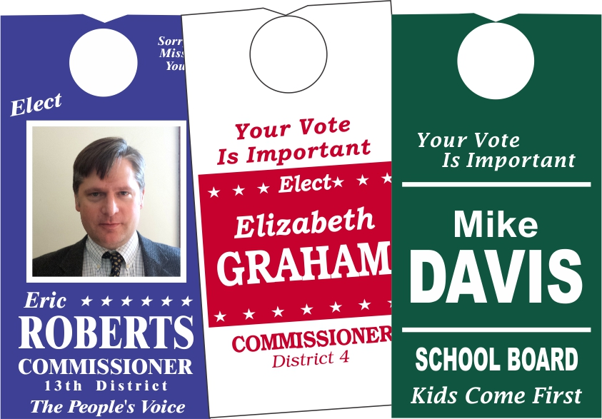 Capitol Promotions Political Door Hangers & Palm Cards