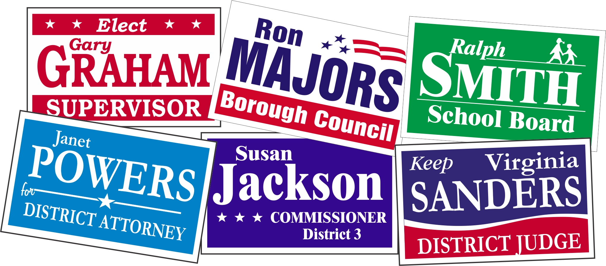Capitol Promotions Campaign Car Door Magnets