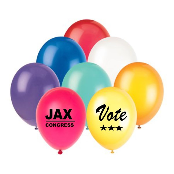Capitol Promotions Latex Imprint Political Balloons