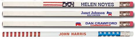 Capitol Promotions Political Pens Pencils Rulers